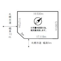 手稲区前田5-11売土地
